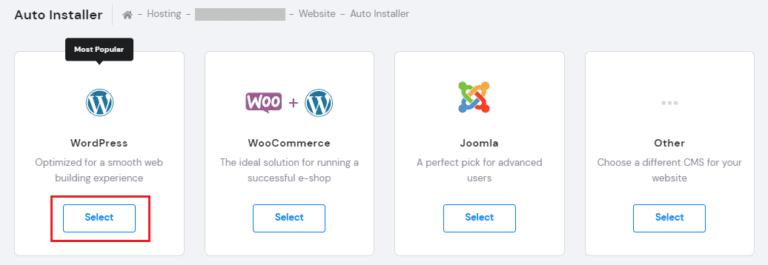 How to Install WordPress in Hostinger
