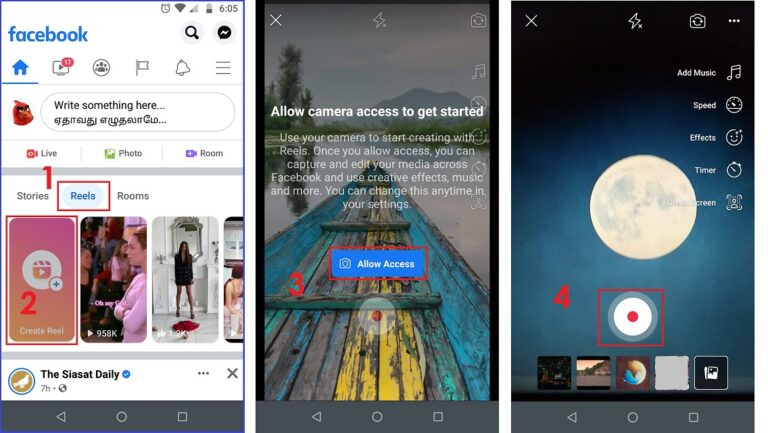 How to Post Reels on Facebook on Android
