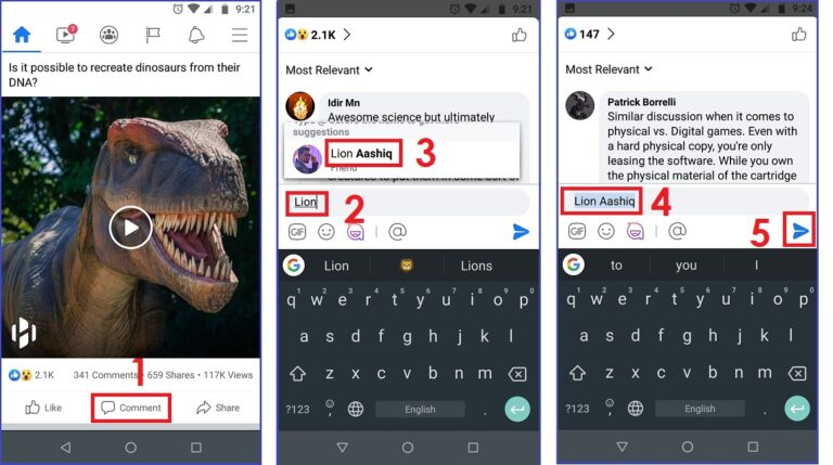How to Tag Someone on Facebook Video on Android