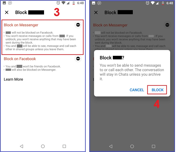 How to Block Someone on Messenger on Android