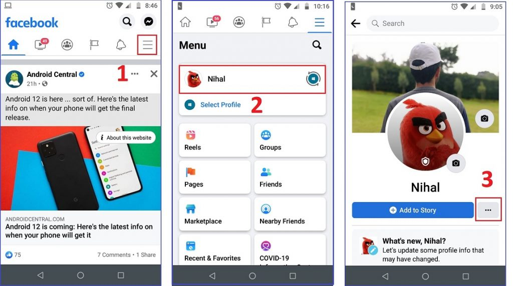 How to Lock your Facebook profile on Android