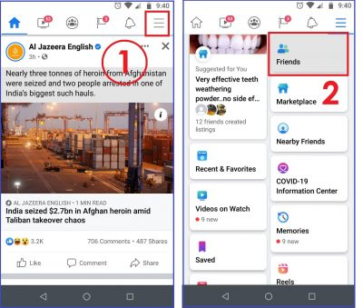 How to unfollow on Facebook on Android & iOS 02